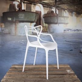 Design stoel Flinder wit