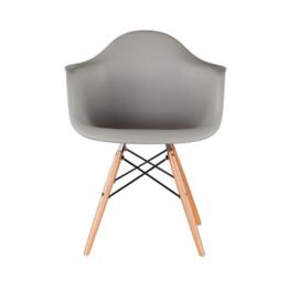 DAW style stoel warm grijs