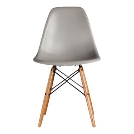 DSW style eetkamer stoel warm grijs