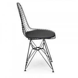 DKR style stoel zwart