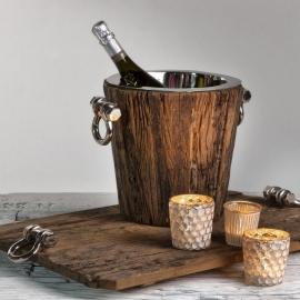 Houten wijn koeler