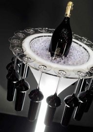 Champagne- & Wijnkoeler LED