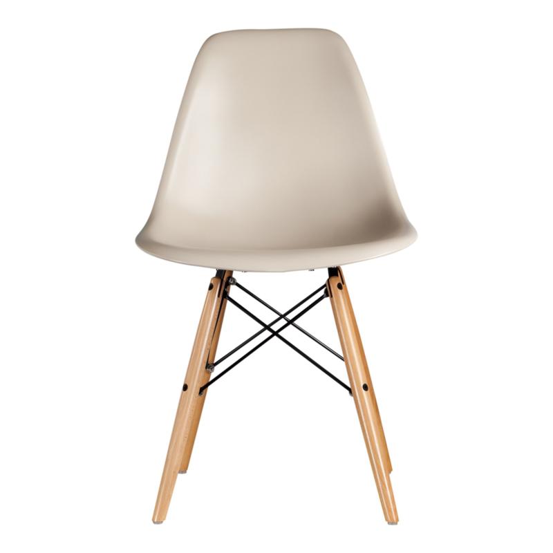 DSW eetkamer stoel taupe