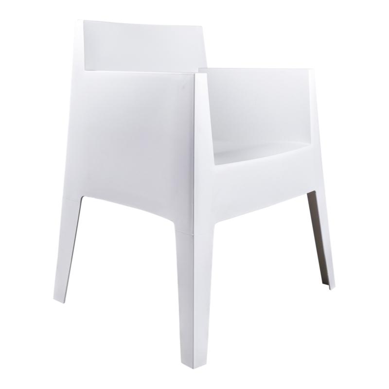 Kubus stoel white