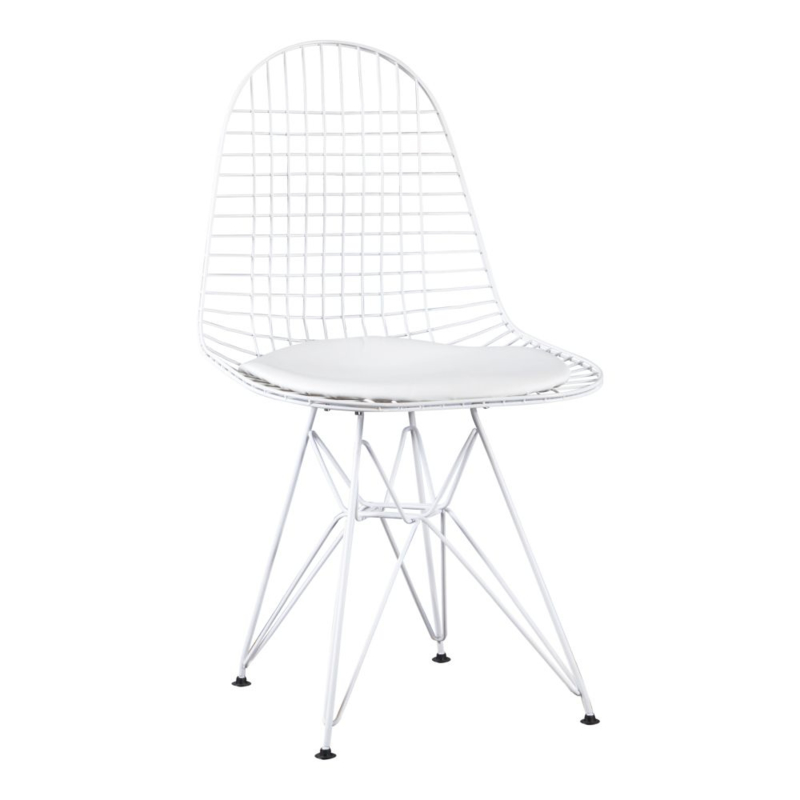DKR style eetkamer stoel - wit