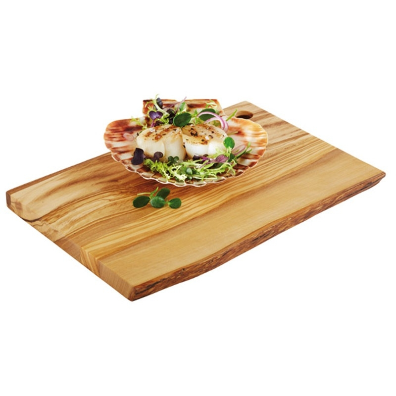 Tapasplank olijfhout - middel