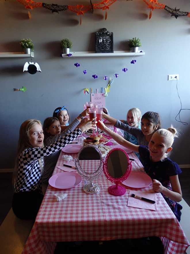 Onwijs Kinderpartijtje kinderfeestje fotoshoot Nieuw-Vennep Hoofddorp QJ-03