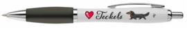 Love Teckels Pen ZWART LANGHAAR