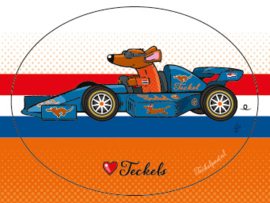RACE AUTO TECKEL Sticker