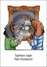 Teckel Tobie Samen museum - ansichtkaart - TT4-A29B