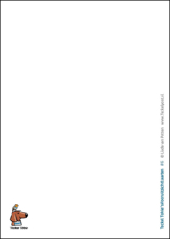 Teckel Tobie's Vooruitzichtkaart, NR 6