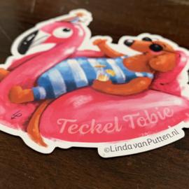 Magneet Teckel Tobie