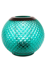 Monterosso Votive Holder Teal