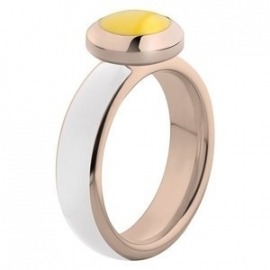 Vivid Ring met Wit