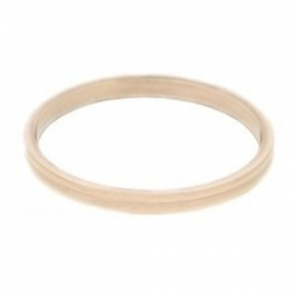 2 mm Ring Smalle Ribbel