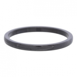 2 mm Ring Keramiek Zwart of Wit