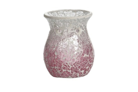 Pink Fade Crackle Melt Warmer