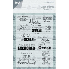 Clear stamps - At the sea Joy Crafts