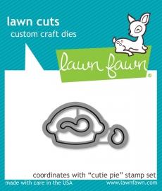 Lawn Fawn Cutie Pie Die/stans