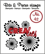 Crealies Clearstamp Bits&Pieces no. 42 45mm / CLBP42