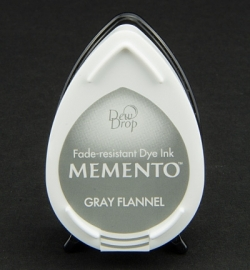 Memento Dew Drop Gray Flannel
