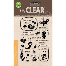 "Hero Arts Clear Stamps 4""X6"" Lunch Box Notes"