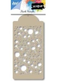 Mask stencil - Bubbels