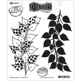 "Dyan Reaveley's Dylusions Cling Stamp Collections 8.5""X7"" Branching Out"