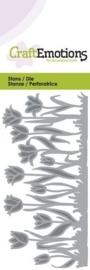 CraftEmotions Die - tulpenrand