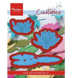 Tiny's waterlilly - Marianne Design Cratable