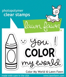 Color my World, Lawn Fawn