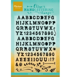 Marianne design stempel Eline Handlettering - Bold