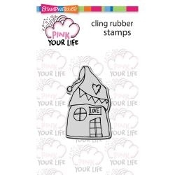 Stampendous-Whisper House  Pink your Life