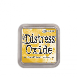 Tim Holtz Distress Oxide Fossilized Amber inkpad