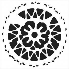 """Crafter's Workshop Remnant Templates 4""""X4"""" \trivet"""
