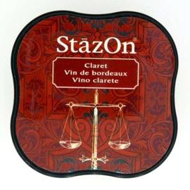 Stazon inktkussen Midi Claret