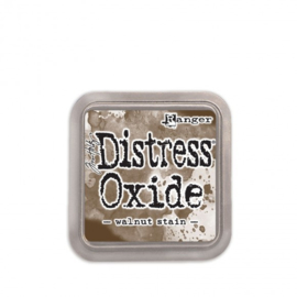 Tim Holtz distress oxide walnut stain inkpad