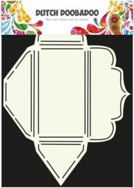 Dutch Doobadoo Dutch Envelop Art Scallop rechthoekig A4