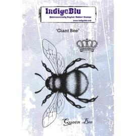 IndigoBlu Giant Bee A6 rubber stempel
