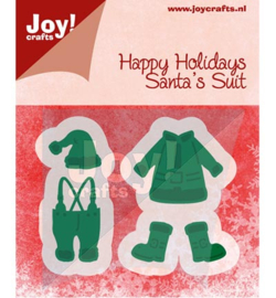 Joy Crafts - Cutting & Embossing stencil - Kleding van kerstman