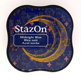 Stazon inktkussen Midi Midnight Blue