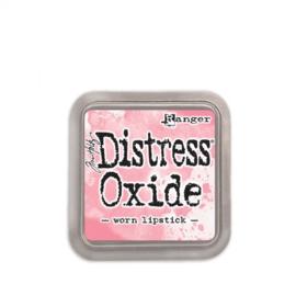 Tim Holtz distress oxide worn lipstick inkpad