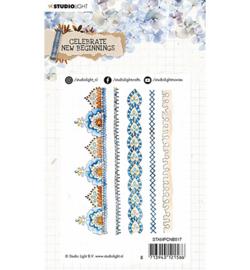 STAMPCNB517 - SL Clear Stamp Celebrate new beginnings nr.517