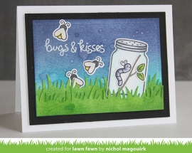 Bugs and Kisses Lawn Fawn