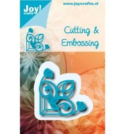 Joy Crafts - snij/embossingstencil hoekje