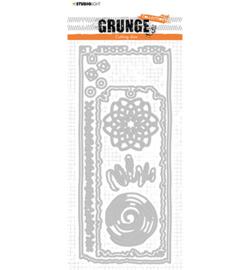 STENCILSL345 - Studio Light - Cutting Die - Grunge Collection - nr.345