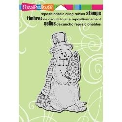 Snowman Tree - stampendous