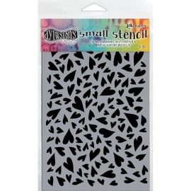"""Dyan Reaveley's Dylusions Stencils 5""""X8"""" Hearts"""