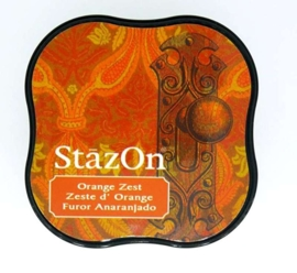 Stazon inktkussen Midi Orange Zest