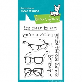 "Lawn Fawn Clear Stamps 3""X4"" Clear to see"